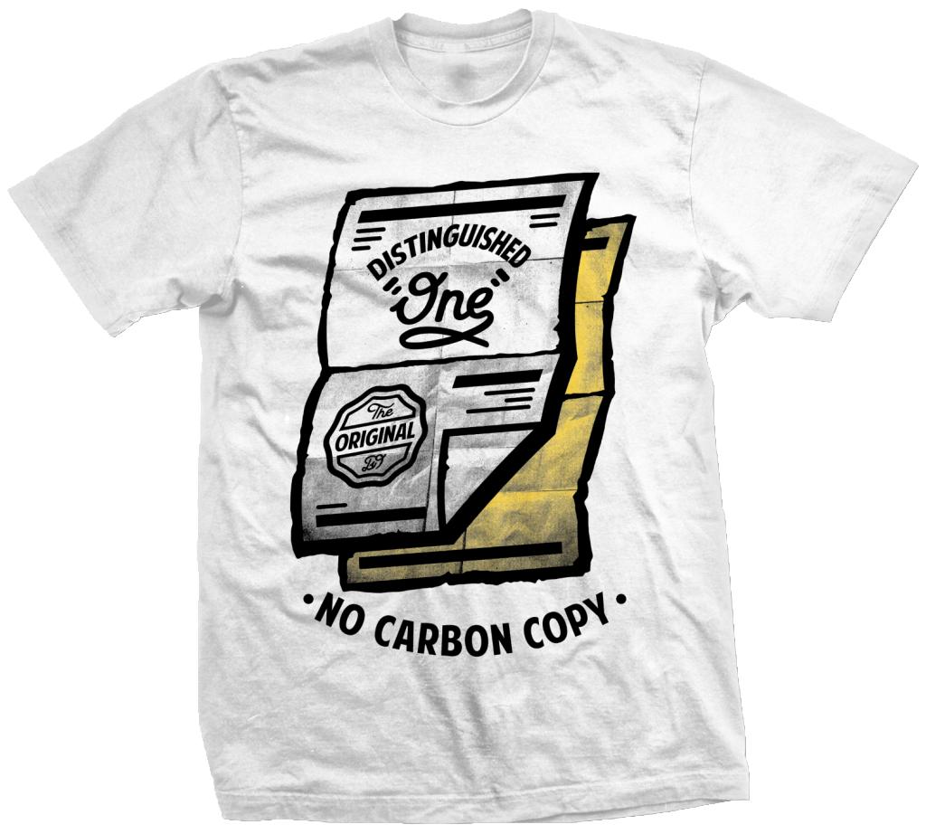 No Carbon Copy – White (Sm-3XL)