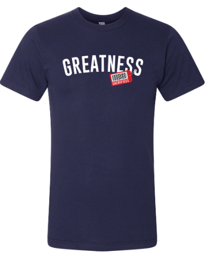 Greatness front