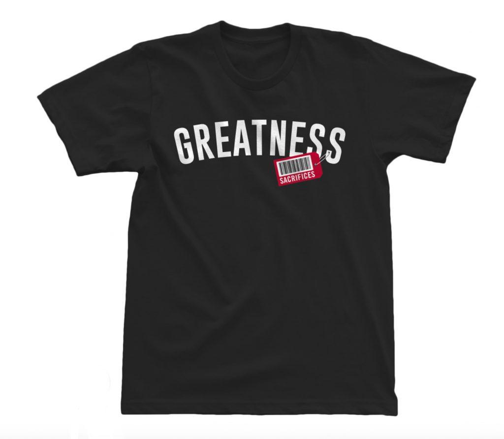 Price of Greatness – Black 2