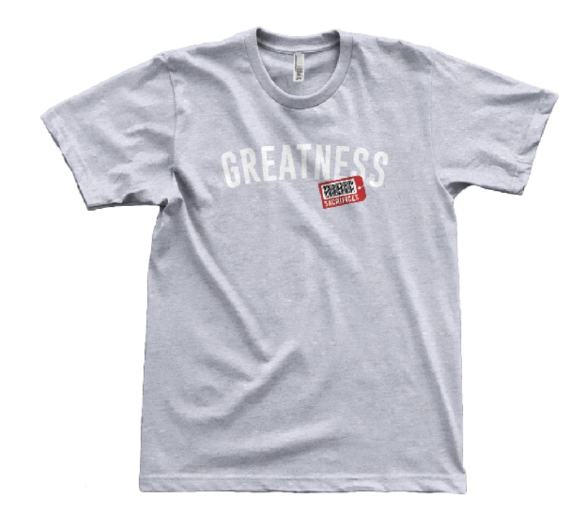Price of Greatness – Gray