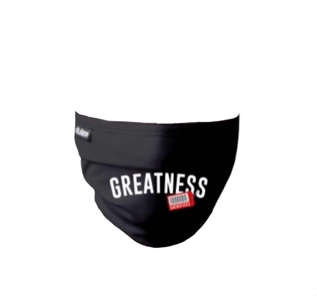 Price Of Greatness Mask
